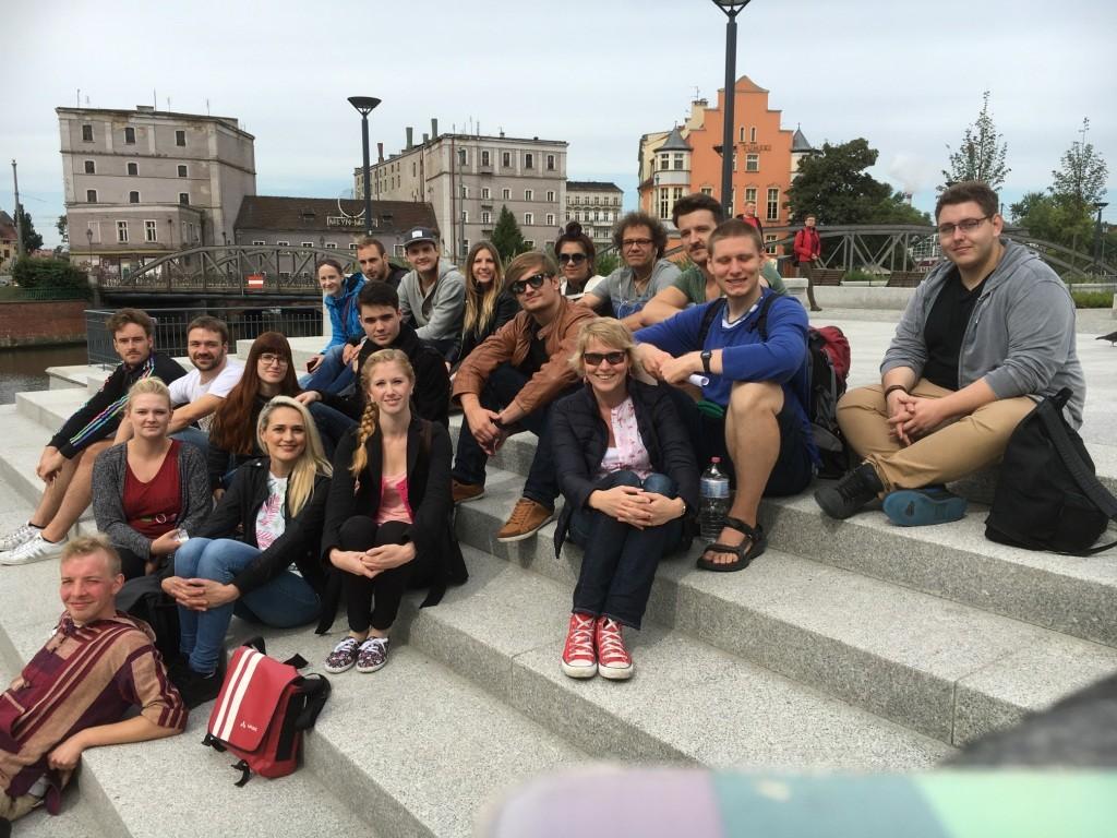 Alle Teilnehmerinnen und Teilnehmer der Exkurison nach Wroclaw und Krakau