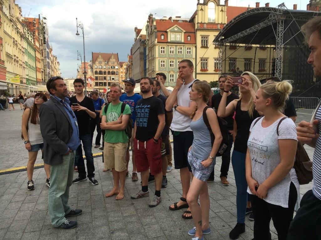 Stadtführung durch Wrocław