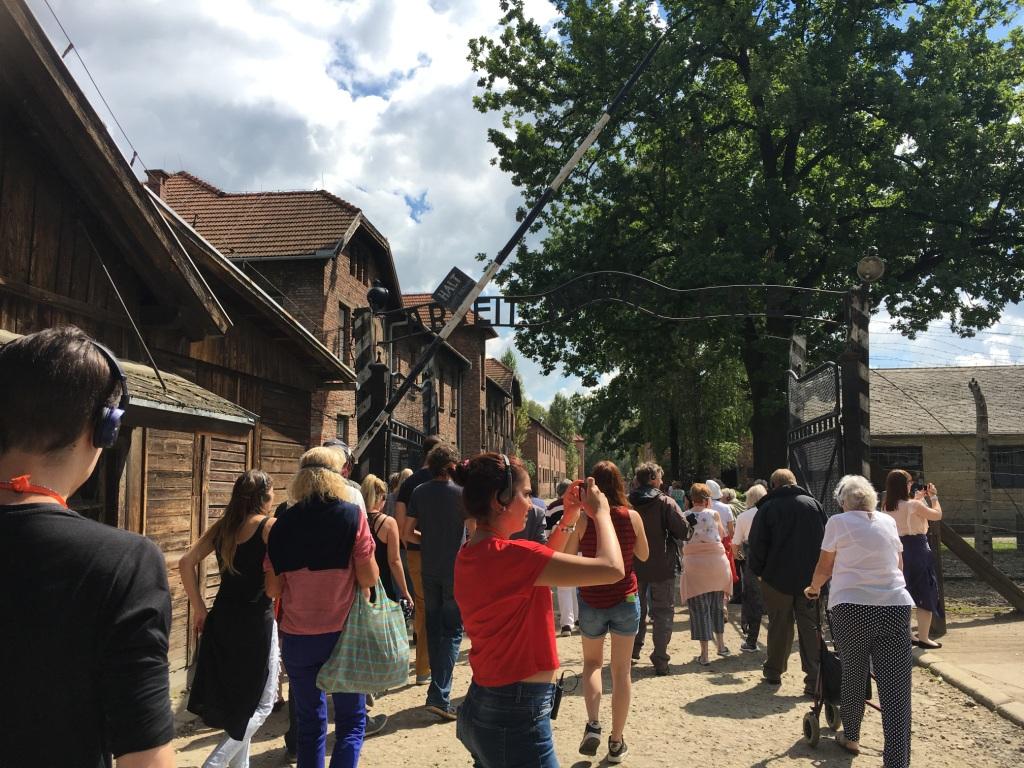 Besichtigung des ehemaligen Konzentrationslagers Auschwitz-Birkenau